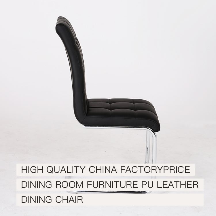 Peachy Professional Design Simple Style Genuine Black Pu Leather Gmtry Best Dining Table And Chair Ideas Images Gmtryco