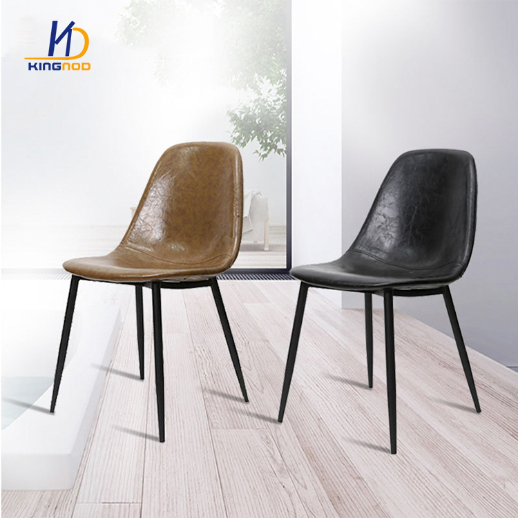 Pu Leather Covered Black Accent Chair Living Room Furniture C 537