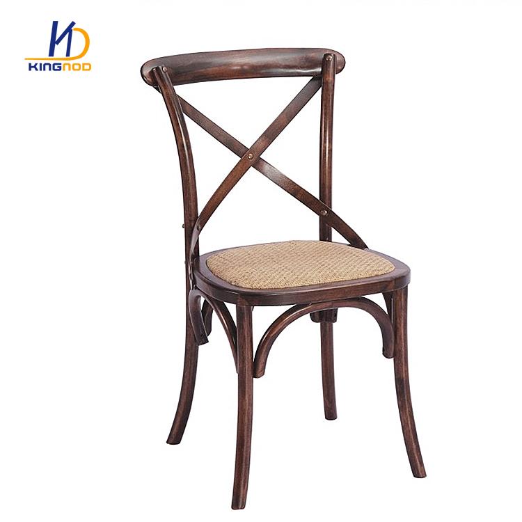 Rattan Cross Back Wedding Chair With Metal Legs C-529 ...