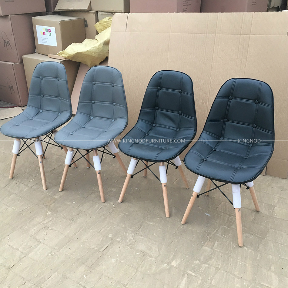 Swell Kingnod C 400 Factory Pu Leather Dining Chair Plastic Modern Beatyapartments Chair Design Images Beatyapartmentscom