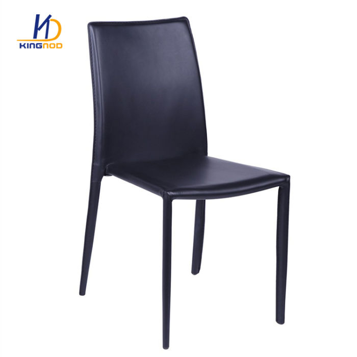 Wondrous Genuine Italian Dining Room Modern Stacking White Pu Leather Uwap Interior Chair Design Uwaporg