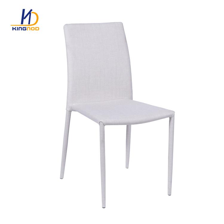 Genuine Italian Dining Room Modern Stacking White Pu Leather Chairs C 110 Tianjin Kingnod Furniture Co Ltd