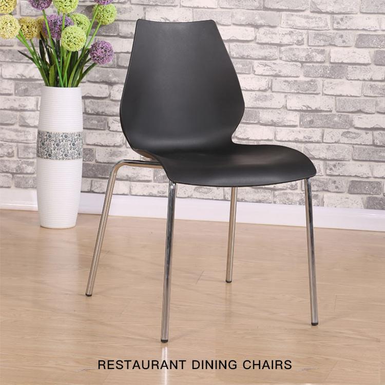 Strange Modern Design Plastic Seat Metal Painting Legs Restaurant Squirreltailoven Fun Painted Chair Ideas Images Squirreltailovenorg