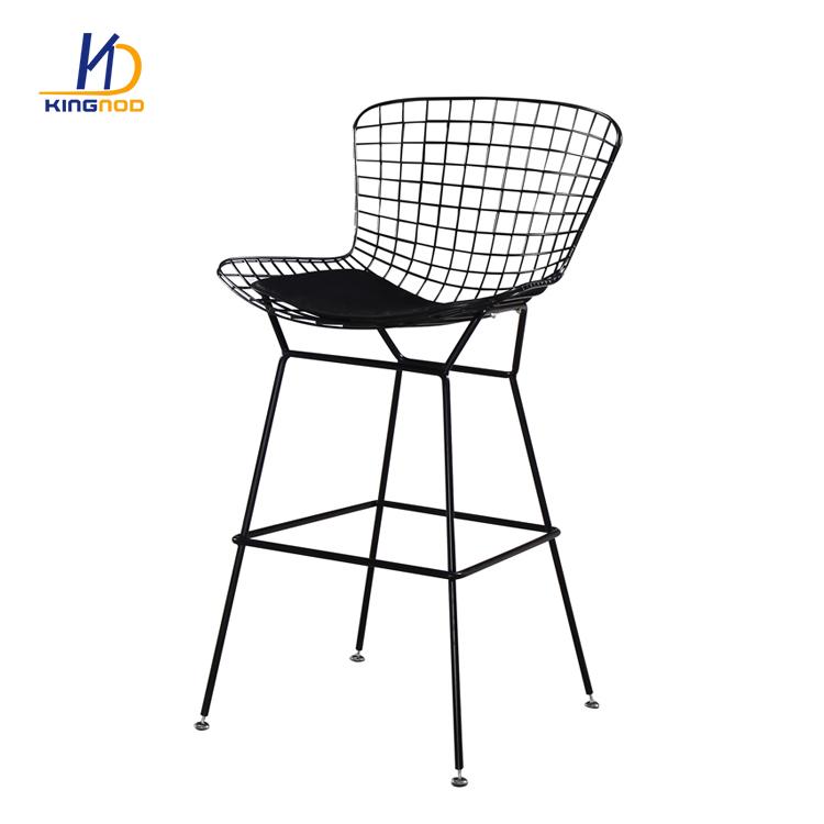 Awe Inspiring New Design Dining Living Cafe Room Modern Mesh Metal Wire Creativecarmelina Interior Chair Design Creativecarmelinacom