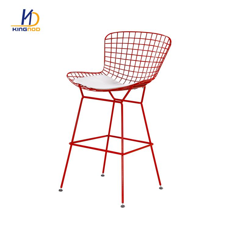 Superb New Design Dining Living Cafe Room Modern Metal Wire Bar Creativecarmelina Interior Chair Design Creativecarmelinacom