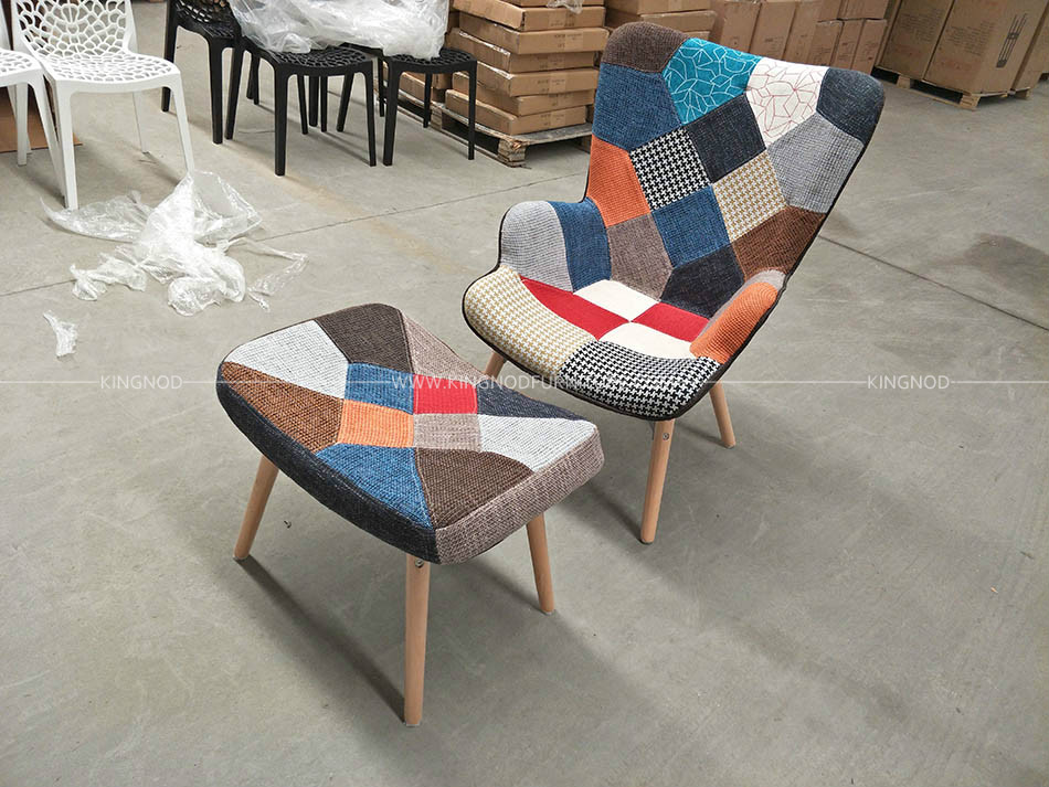 Tremendous Kingnod C 670 Oem Leisure Designer Modern Velvet Patchwork Dailytribune Chair Design For Home Dailytribuneorg