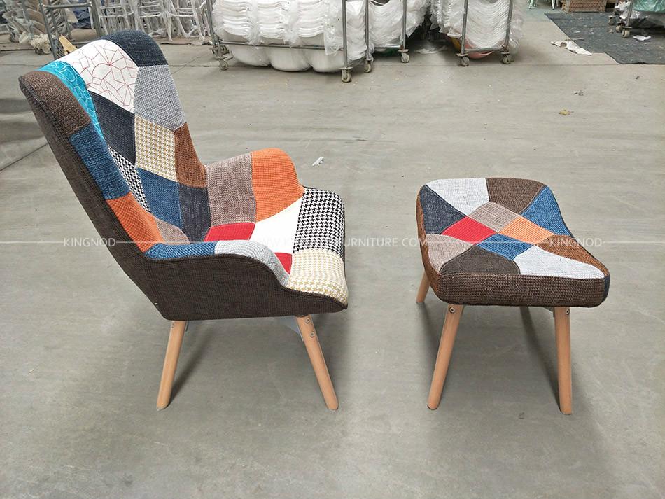 Awe Inspiring Kingnod C 670 Oem Leisure Designer Modern Velvet Patchwork Ocoug Best Dining Table And Chair Ideas Images Ocougorg